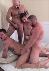 Adam Russo, Dayton O'Connor, Shay Michaels & Tate Ryder (Raw Fuck Club)