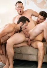 Step Your Bussy Up: Dante Colle, Pierce Paris, Michael DelRay