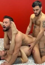 John Joins in Threesome with Andrea Suarez and Douglas Smith